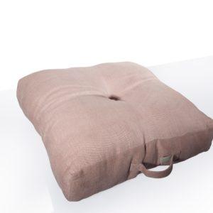Cuscino da terra in lino