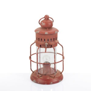 Lanterna rossa vintage