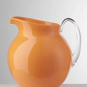 Brocca palla arancio fluo