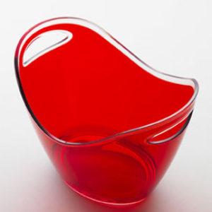 Portaghiaccio rosso